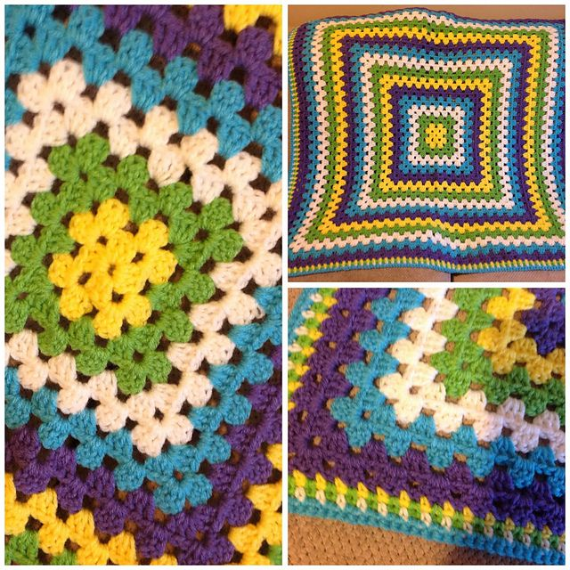 80 Best Crochet Baby Giant Granny Square Blankets 2 Images On