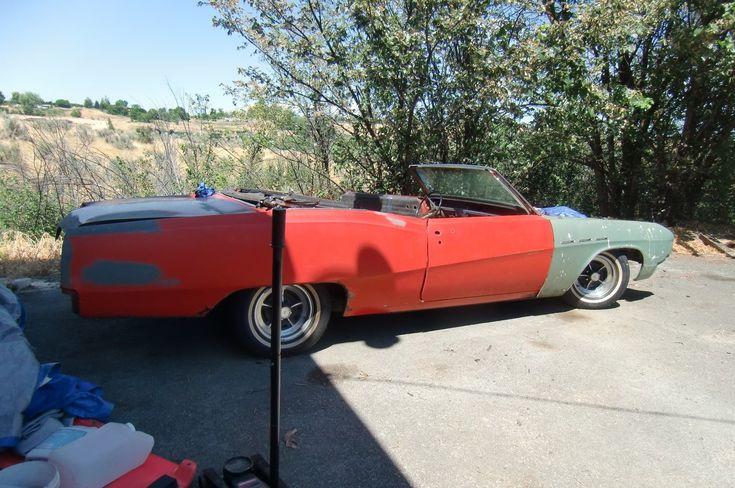 eBay: 1967 Buick LeSabre 1967 BUICK LESABRE CONVERTIBLE PROJECT #carparts #carrepair