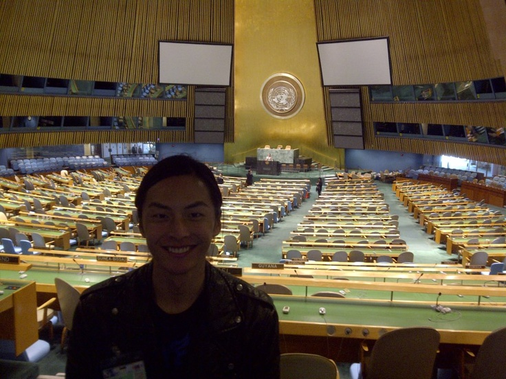 Visit at the United Nations, where I learnt a lot of new things.