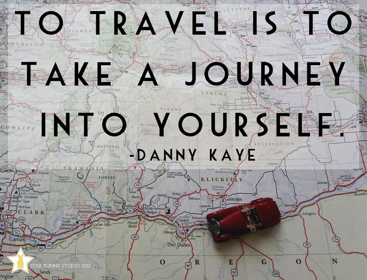 To travel is to take a journey into yourself