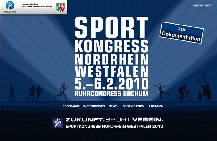Organisation und Durchführung des großen NRW Sportkongress