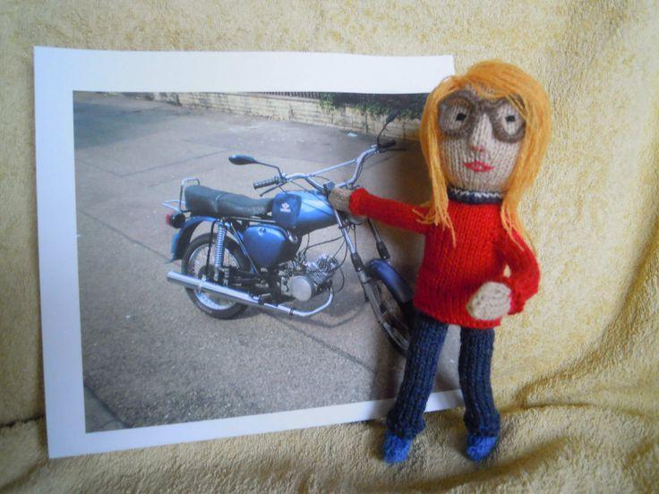 """Börge aus der Olsenbamde sagt:""""Ich will `n Moped!!"""""""