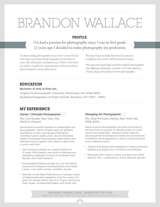 9 best Conservative Resumes images on Pinterest Resume ideas - resume layout tips