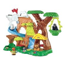 Fisher-Price - Little People - Zoo Talkers Animal Sounds Zoo - French Edition