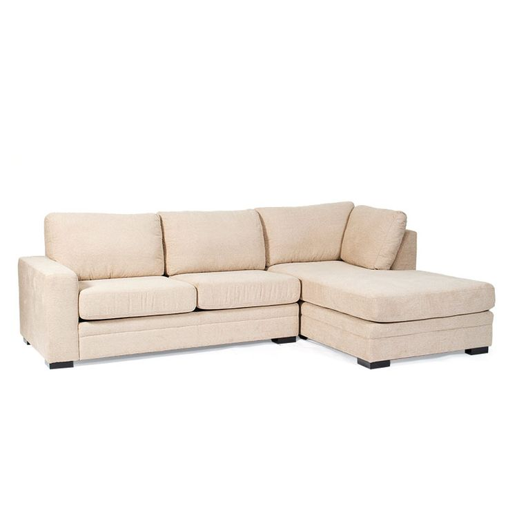 Serenity 3 Seater Chaise with Inner Spring Sofa Bed