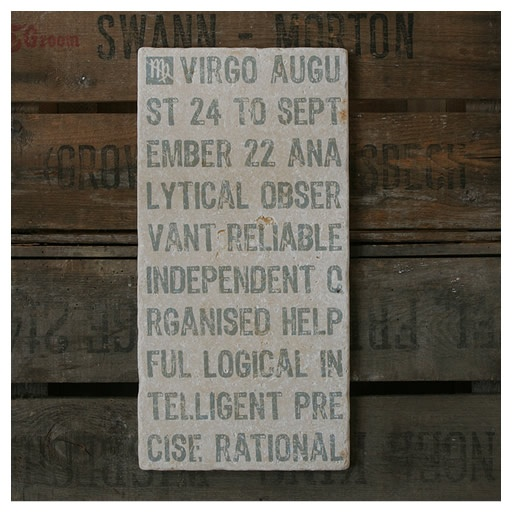 virgo sign. neutral colors are good fit.