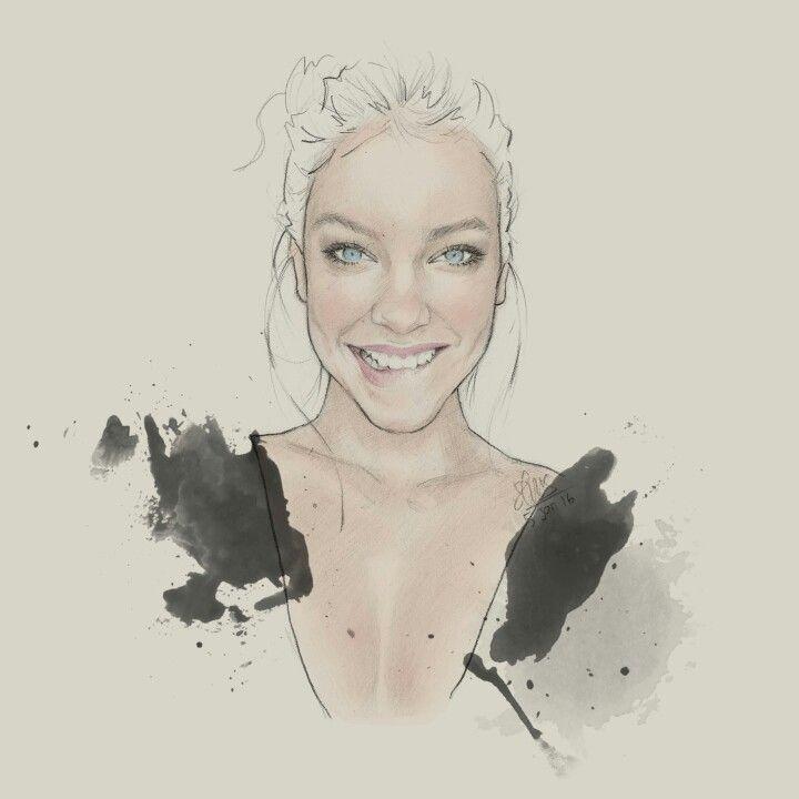 Barbara Palvin #sketch