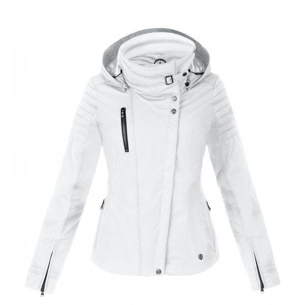 Poivre Blanc - Short Ski Jacket - Womens Designer Ski Jacket, White