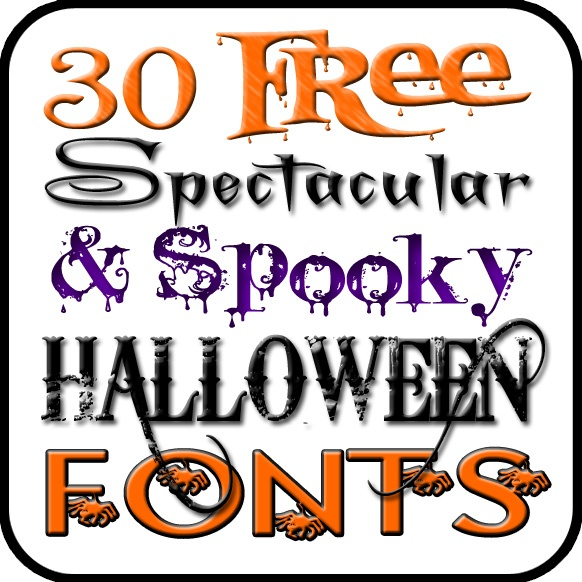 bell jar vintage 30 free halloween fonts - Good Halloween Font