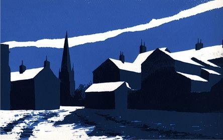 Hard Winter, Masham by Ian Scott Massie