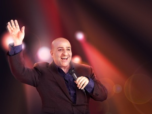 Omid Djalili- one funny guy and I love going to his gigs
