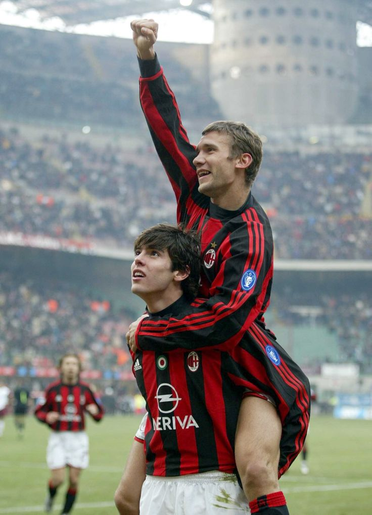 Andrei Shevchenko & Kaka - I will never forget those two incredible legends. They done so much for AC Milan ~