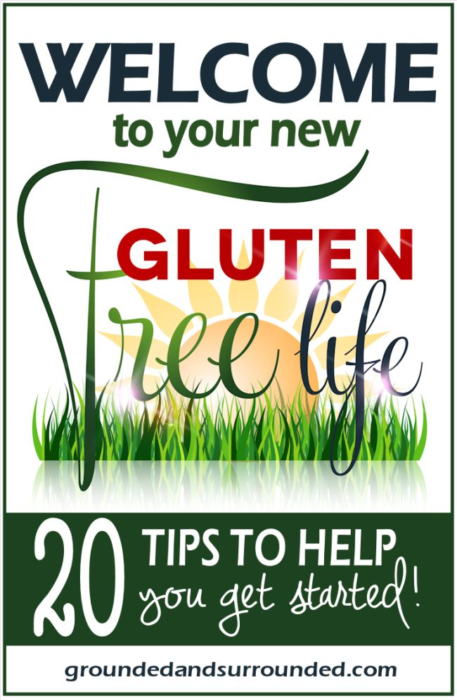 Being told you have to go gluten free can be extremely overwhelming. Here are 20 great tips for anyone going gluten free. If you would like to regain your health without going crazy, check out these amazing resources- one being a gluten-free guide to your favorite restaurants and of course, amazing and healthy recipes! http://www.groundedandsurrounded.com/gluten-free-101/