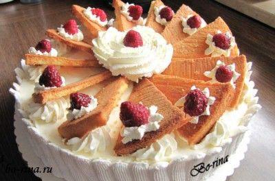 Торт «Апельсиновый пунш»