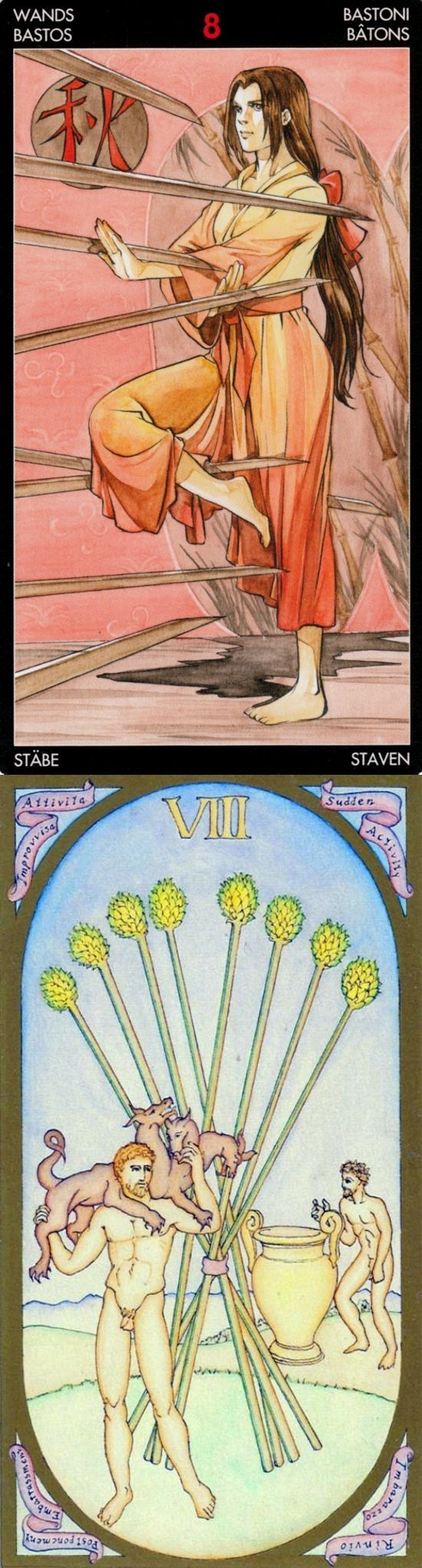 Eight of Wands: things manifesting quickly and slowing down (reverse). Manga Tarot deck and Renaissance Tarot deck: read online free, tarot card reading love in hindi and free one card tarot. New tarot decks for sale and lenormand cards decks.