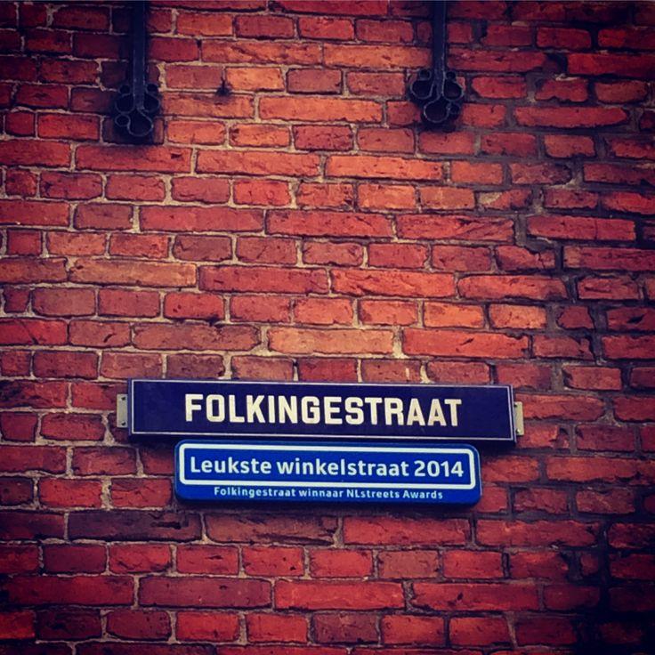Folkingestraat, leukste winkelstraat 2014, Groningen