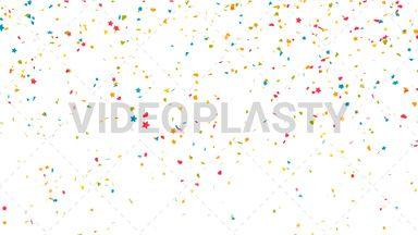 Confetti Drop Background Loop