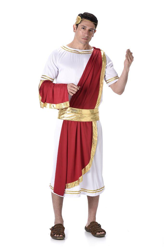 Romeinse Keizer Julius Kostuum Heren