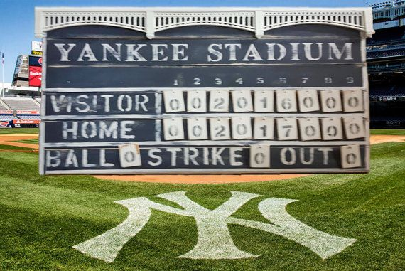 1000 ideas about baseball scoreboard on pinterest for Baseball scoreboard wall mural