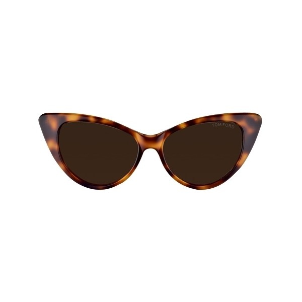 Tom Ford Nikita Sunglasses found on Polyvore: Cat Eyes, Eye Shapes, Extreme Cat