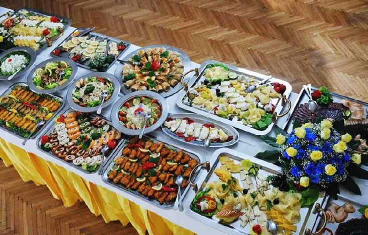 50Th Birthday Food Party Ideas  Party Food For Adults, Buffet Food, Party Menu-6609