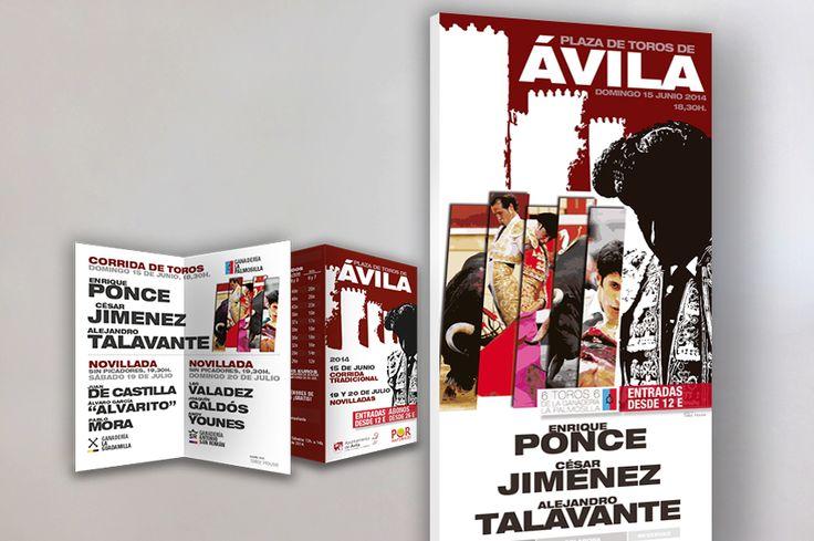 Por Naturales | Cartel Oficial Ávila 2014