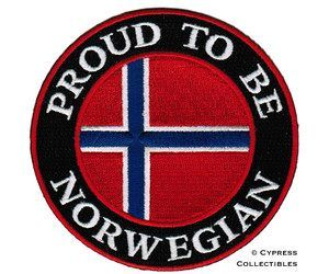 Proud to be Norwegian.