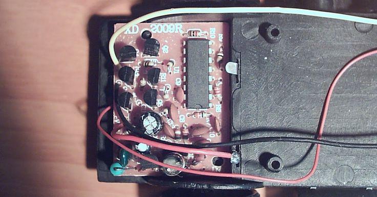 Electrónica y ciencia: Receptor coche RC de dos canales