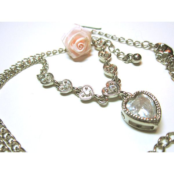 PENDANT Heart Pendant Necklace Multiple Hearts Gift Idea For... (37 CAD) via Polyvore featuring jewelry, necklaces, graduation necklace, necklace heart pendant, valentines day necklace, graduation pendant and heart shaped necklace