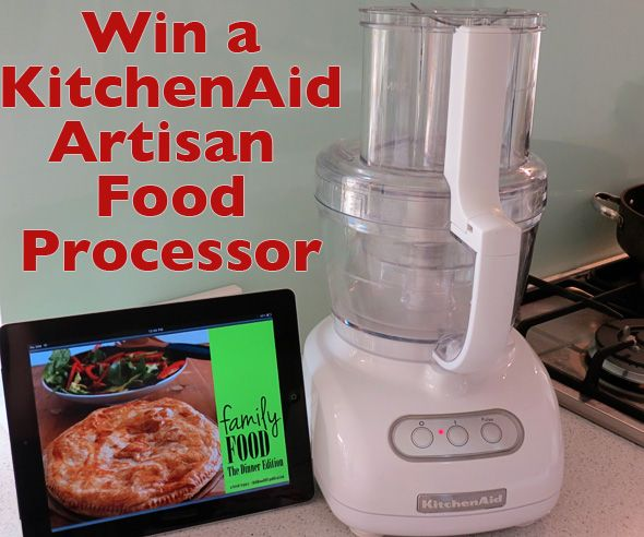 Win a KitchenAid Artisan Food Processor - Australian entries only