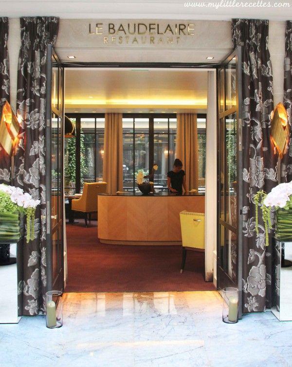 Le Baudelaire de l'Hotel Le Burgundy Paris