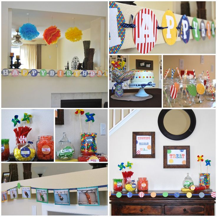 1000+ Ideas About Homemade Birthday Decorations On