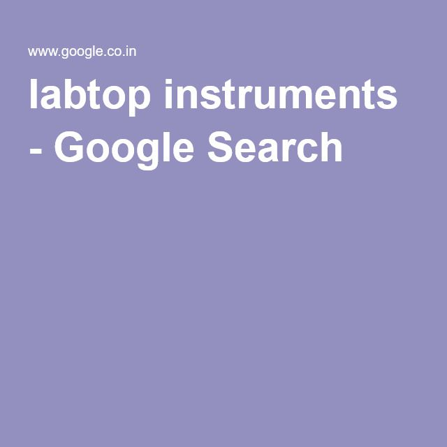 labtop instruments - Google Search