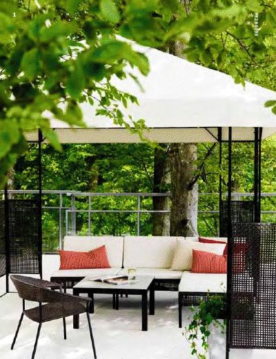 Ammero gazebo outdoor living pinterest gazebo - Ikea pergolas jardin ...