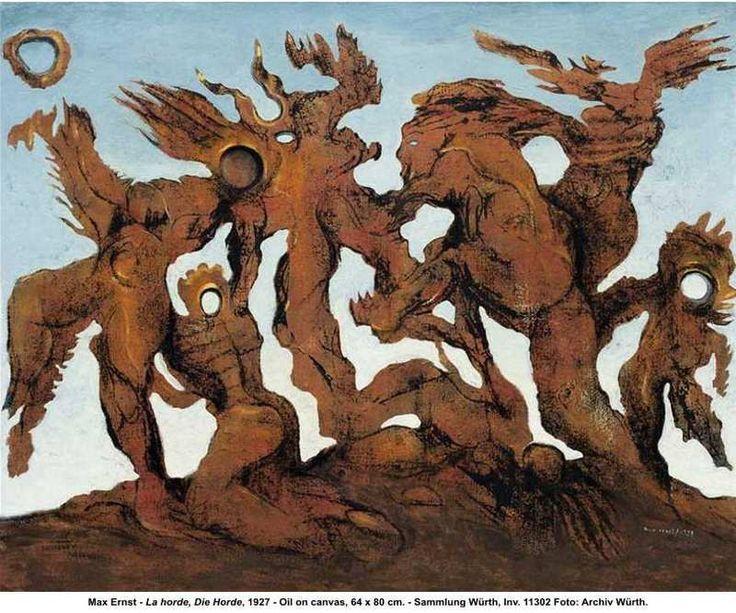 La Horde, Max Ernst, 1927