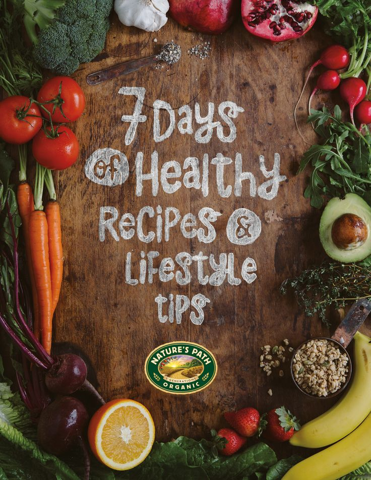 FREE eBook - 7 Days of Healthy Recipes & Lifesttle Tips  http://bit.ly/7DaysEbook-Pinterest