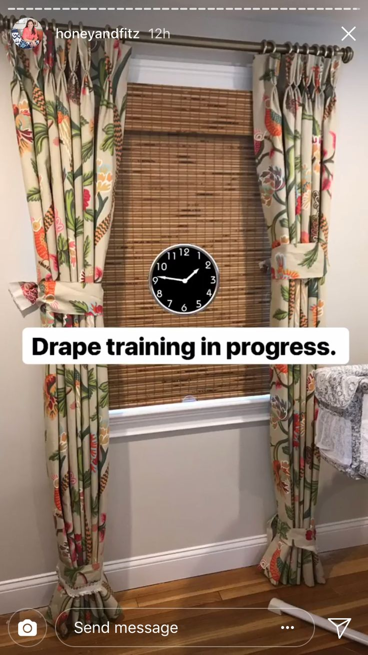drapes pin existing nice rod to thermal brackets hang ugly cords me drafty behind cost bungee used two more using and the curtain no