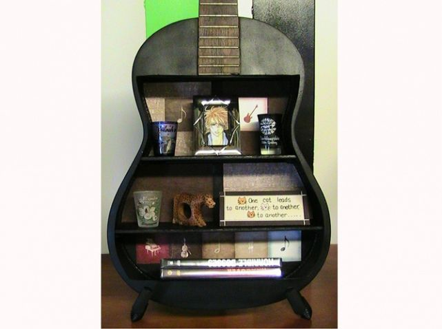 Etsy guitare etagere