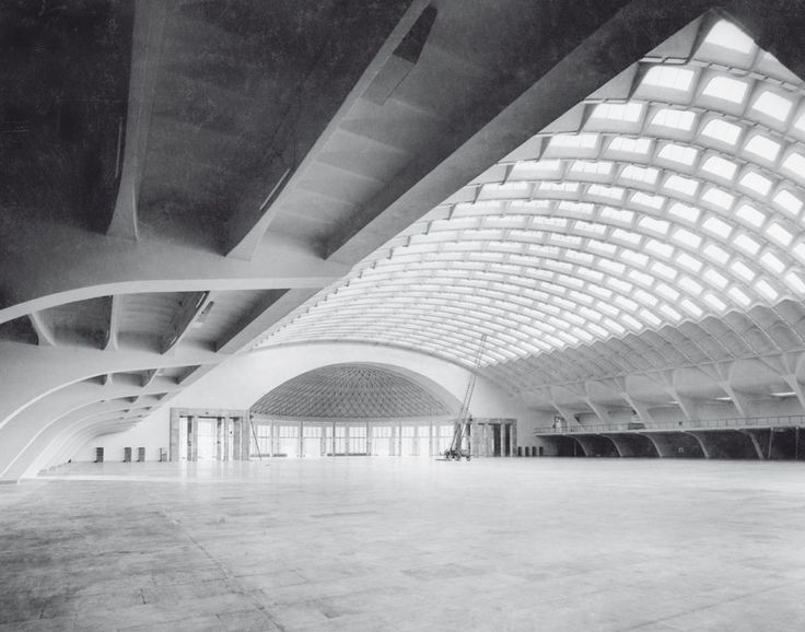Pier Luigi Nervi ou l'art de la structure - Photographies de la collection Alberto Sartoris
