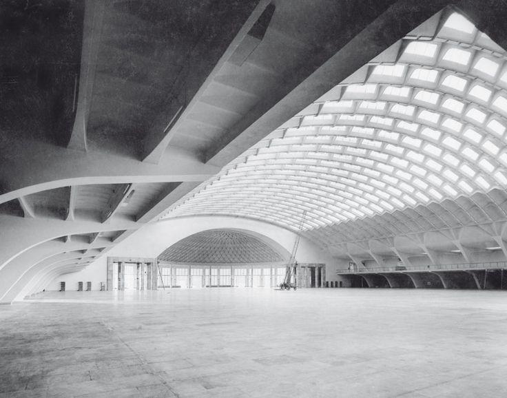 Pier Luigi Nervi ou l'art de la structure - Photographies de la collection Alberto Sartoris