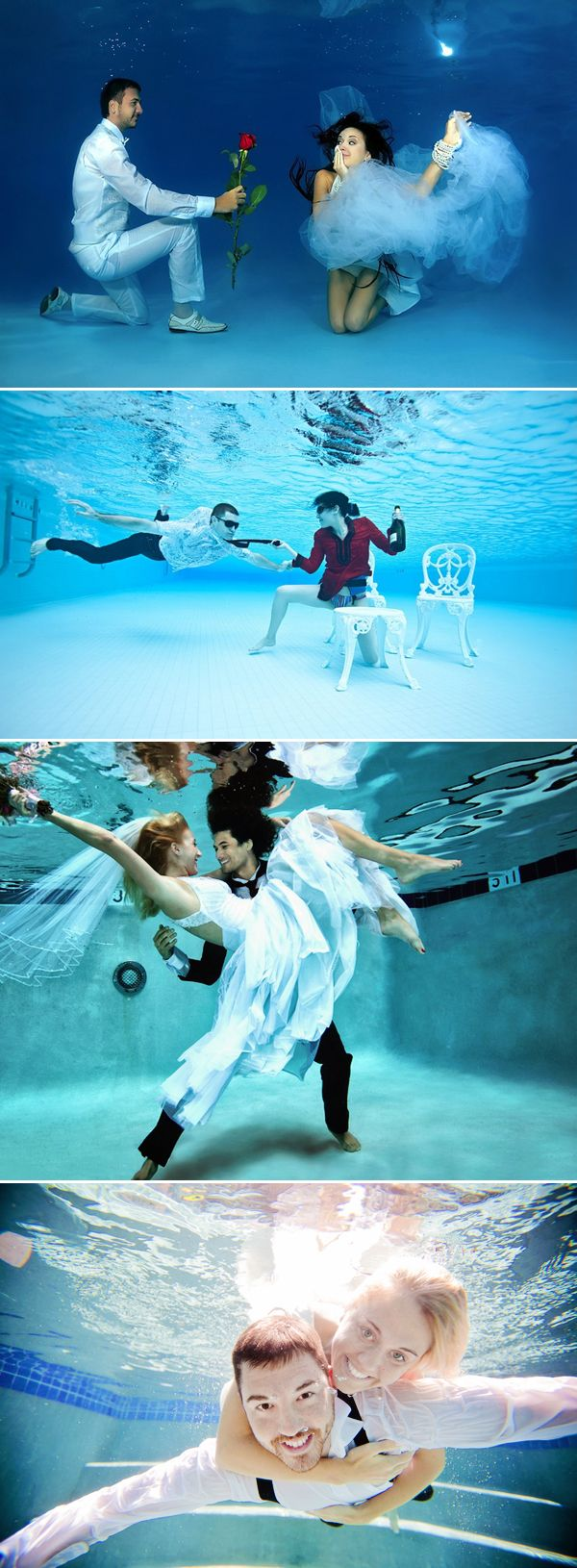 29 Funny Underwater Engagement Photo Ideas | http://www.deerpearlflowers.com/29-funny-underwater-engagement-photo-ideas/