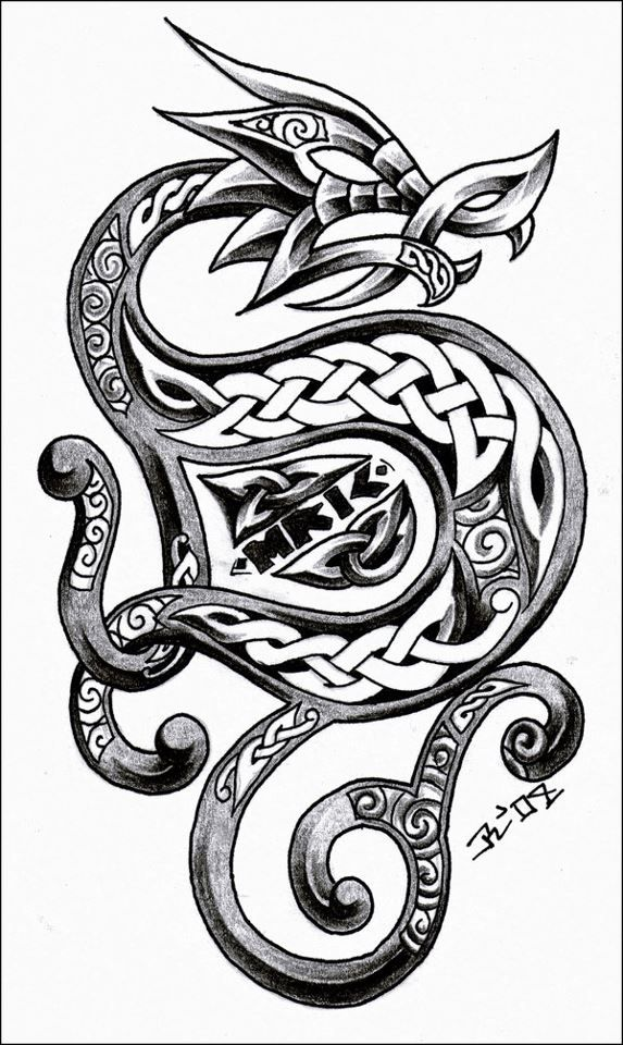 Celtic dragon                                                                                                                                                      More