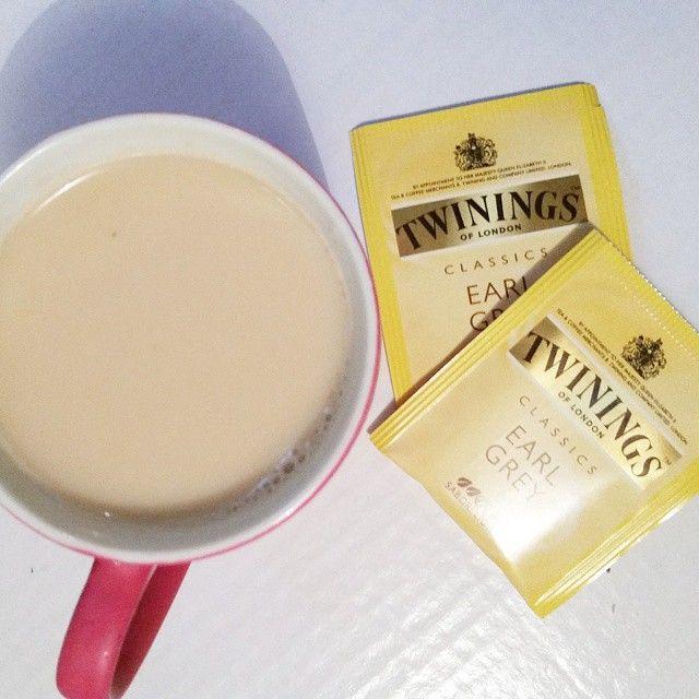 Earl Grey Latte #twiningstea #twiningsoflondon #twinings #earlgreylatte