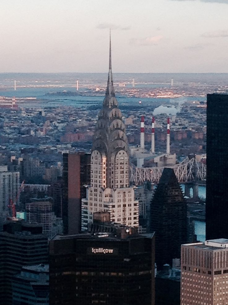 From the #NewYorkSkyle #Skyscrapers #Manhattan #TheRock