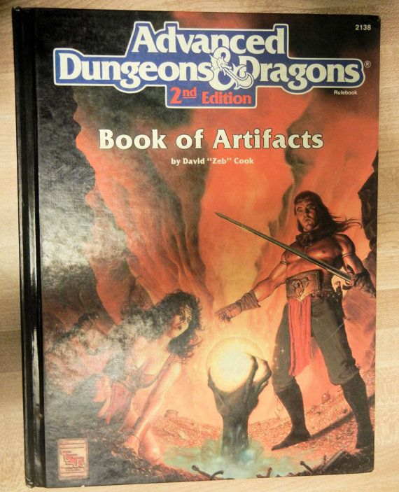 1993 Advanced Dungeons and Dragons Book of by RubbersuitStudios, $10.95
