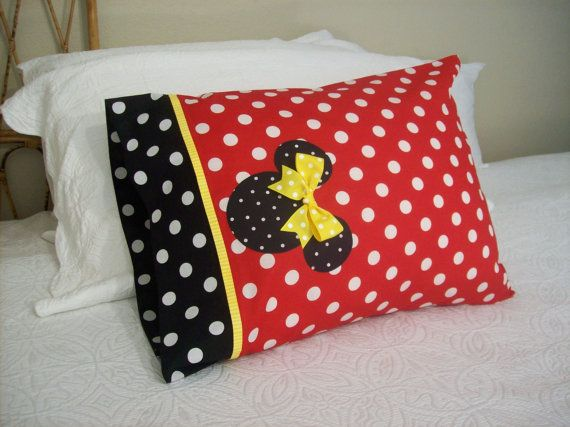 Custom Boutique Minnie Mouse Red & Black Polka by AnnMargrock, $21.99