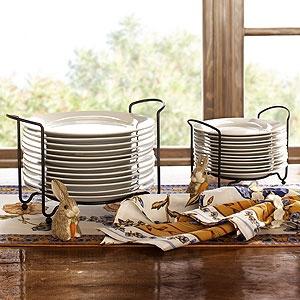 Porcelain Plates Sets with Space-Saving Racks   World Market & 113 best Dinner \u0026 Glassware Etc. images on Pinterest   Dish sets ...