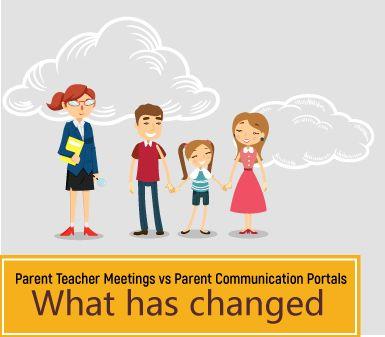 Parent teacher meetings Vs parent communication portals - what has changed? - http://educationzen.com/blog/parent-teacher-meetings-vs-parent-communication-portals-changed/