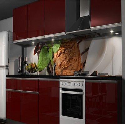 Klebefolie Küchenrückwand Möbel U0026 Wohnen Kuechenrueckwand Folien 319012