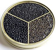 Royal Trilogy Caviar Gift (Beluga Caviar, Imperial Oscietra Caviar and Royal Sevruga Caviar)